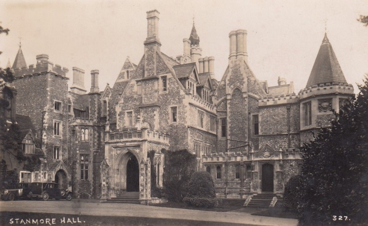 Stanmore Hall, William Knox D'Arcy