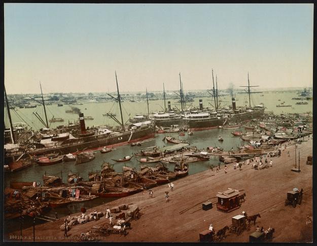 British India Steam Navigation steam ships in Calcutta