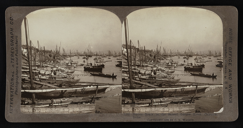 hooghly native boats 1905