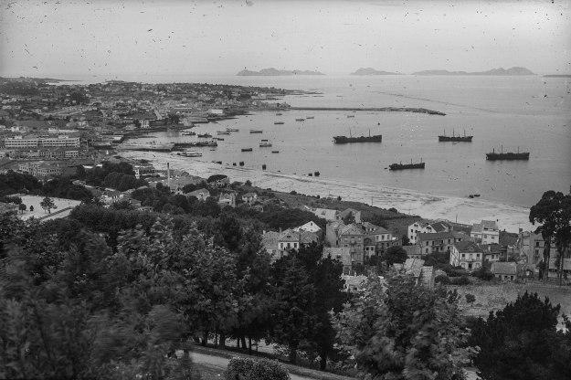Vigo puerto 1920