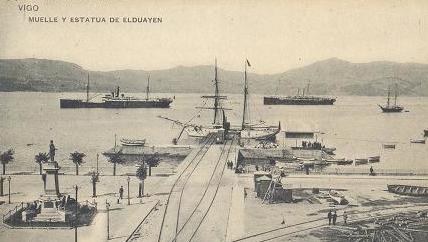 Vigo puerto 1910