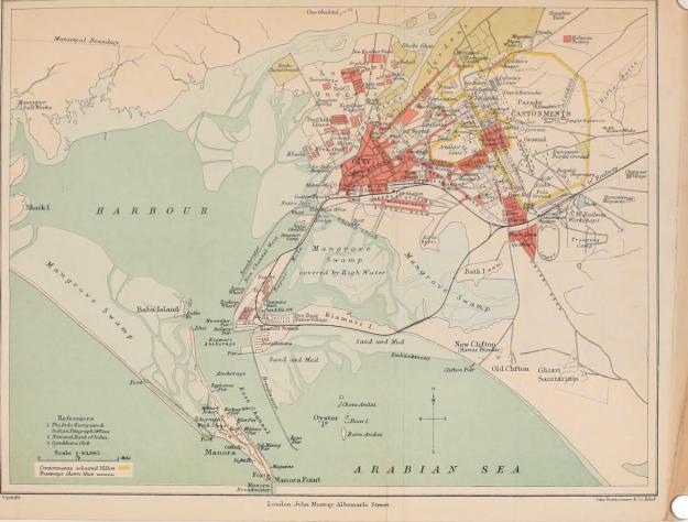 port and city of Karachi 1911