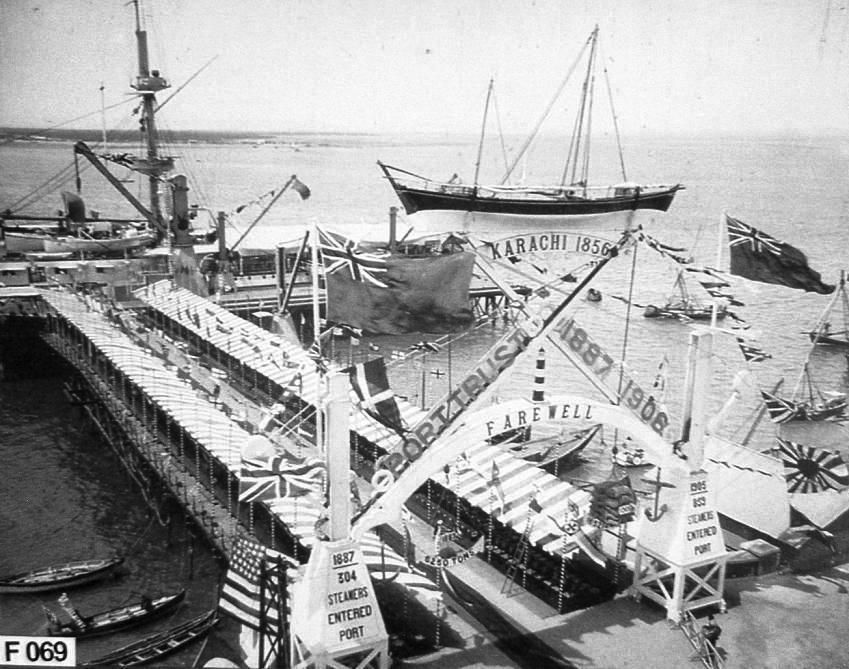 port of Karachi 1906