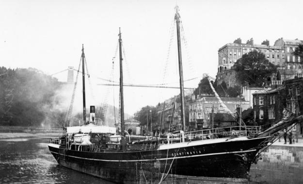 Scandinavia (schooner) in Bristol
