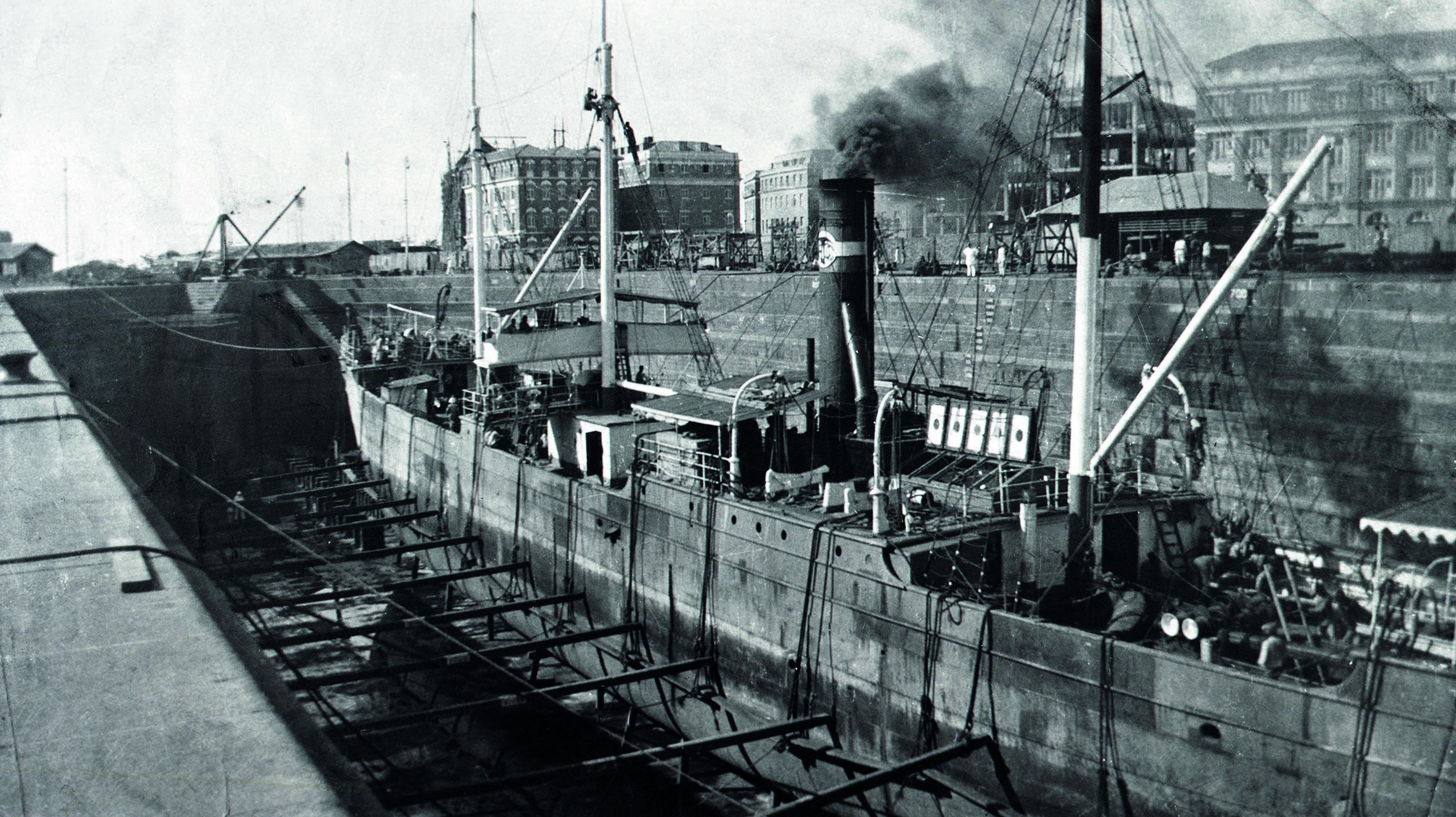 SS Ferrara Anglo-Persian Oil Company, 1912-1915