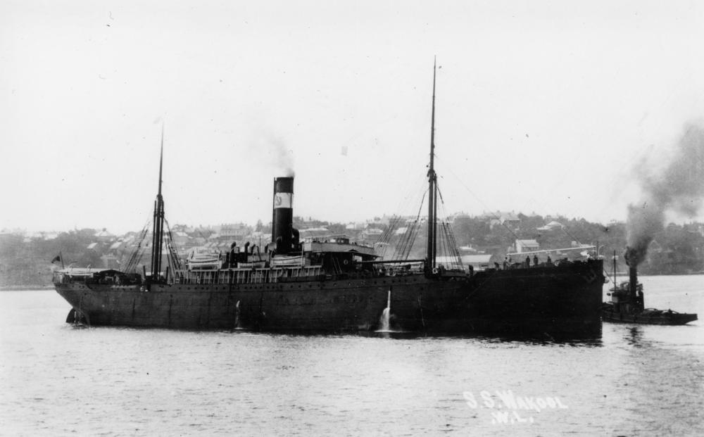 Wakool, Blue Anchor Line