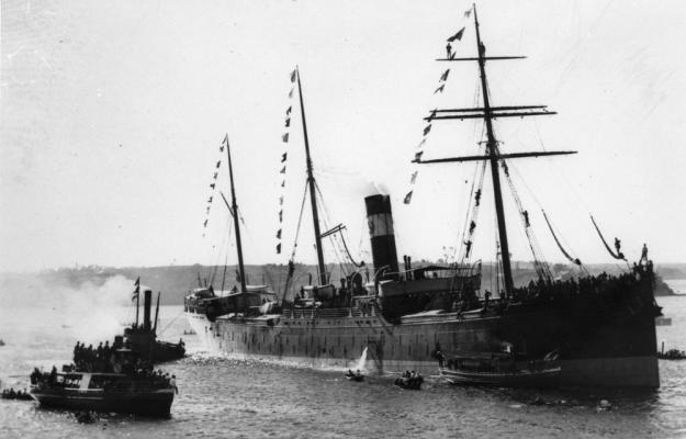 Warrigal, Blue Anchor Line