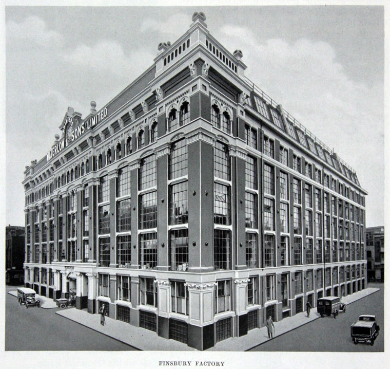 Waterlow and Sons, Finsbury