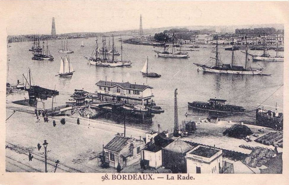 Pont transbordeur Bordeaux about 1914