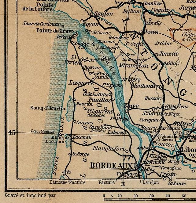 Gironde Medoc 1914