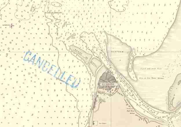 Bushire 1906 map