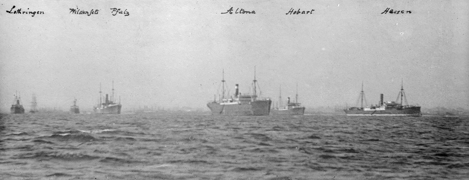 Hobson's Bay, September 1915