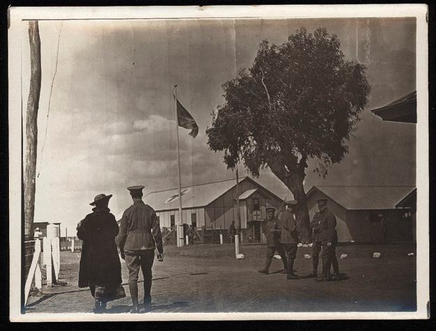 Langwarrin camp, about 1917