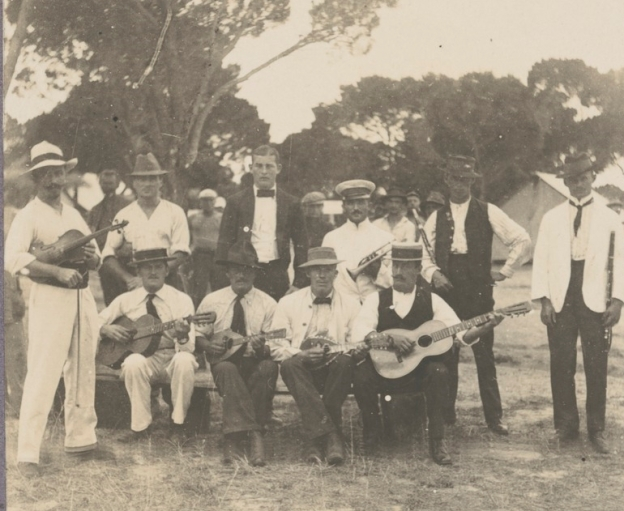 Rottnest Island Internment Camp, 1914-1915