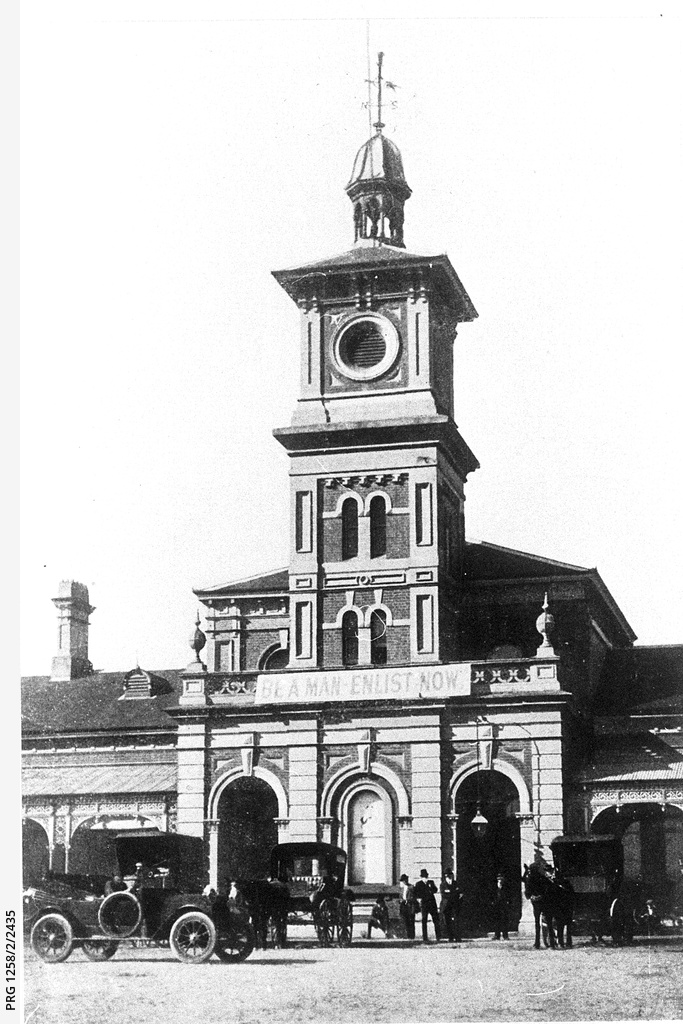 Albury Station about 1916