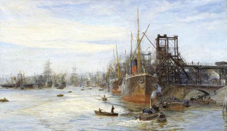 Barry Docks um 1900