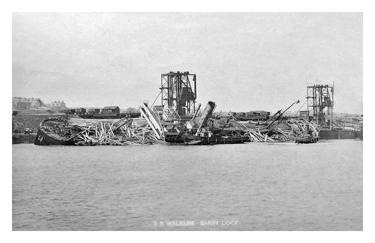 Walküre, Barry Docks 1908