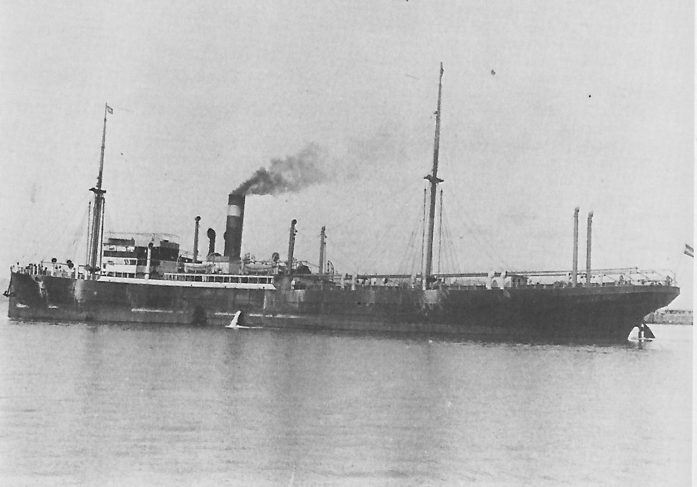Steamer Hobart, German-Australian Line
