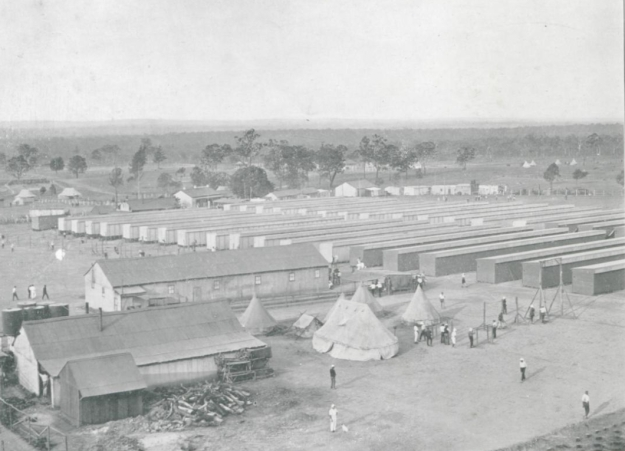 Liverpool Camp, about 1916