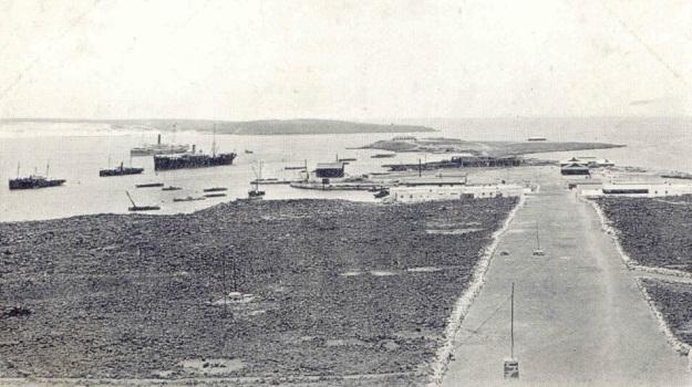 Perim coaling station 1910