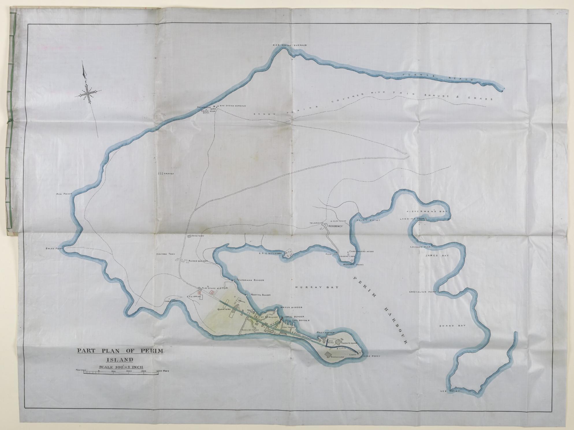Perim map 1928