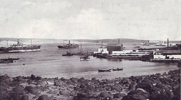 Perim coaling 1910