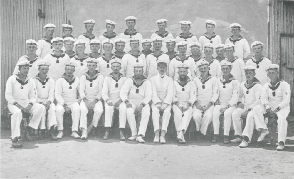 SMS Emden, Mannschaft (Teil) in Liverpool, WW1