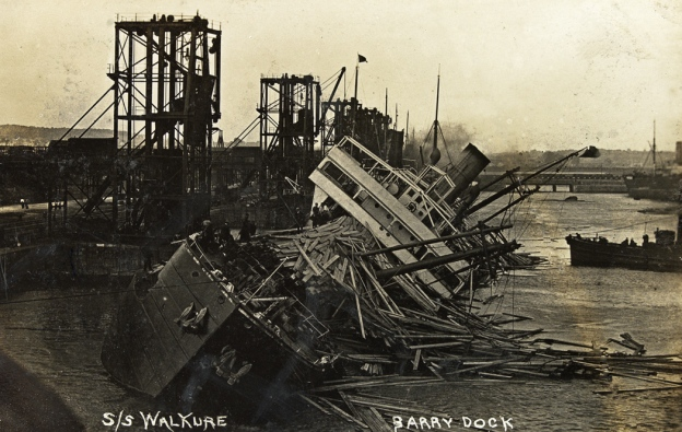 Barry Docks, Walküre, 1908