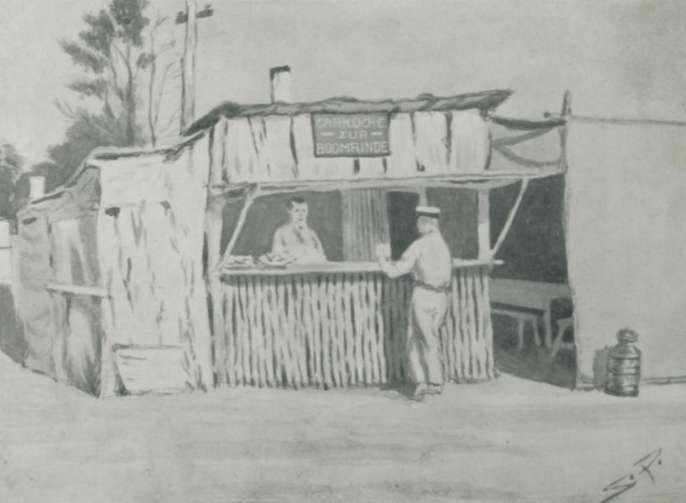 Garküche zur Boomrinde, Liverpool Camp, WW1