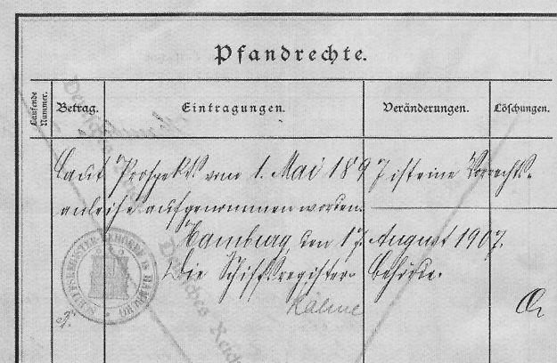 Schiffszertifikat Fürth
