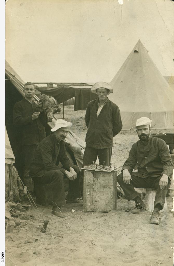 Torrens Island camp 1915