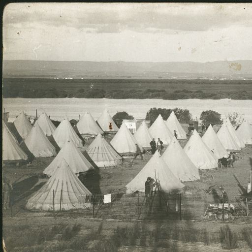 Internment Camp auf Torrens Island, 1915,