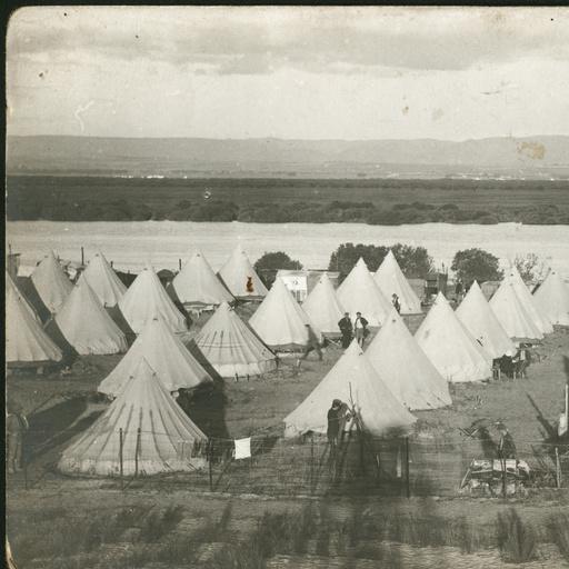 Internment Camp auf Torrens Island, 1915,