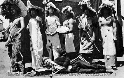 Kaiser's birthday 1915, Torrens Island