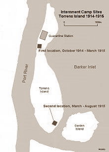 Torrens Island Camps 1915