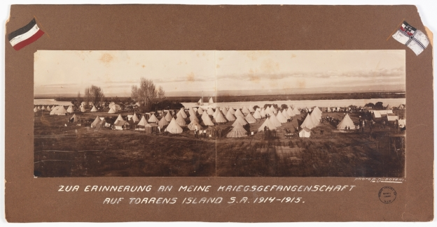 Torrens Island Prisoner of War Camp 1915