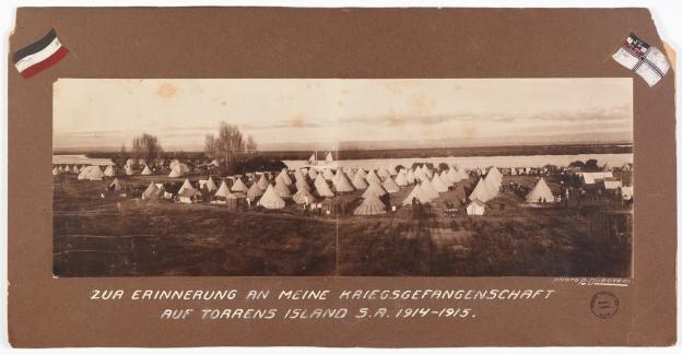 Torrens Island Prisoner of War Camp 1915