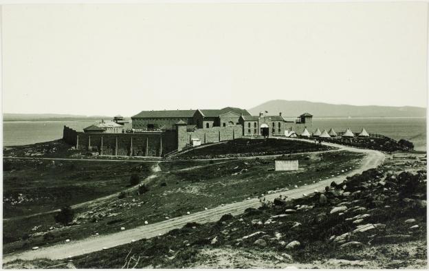 Trial Bay Gaol 1915