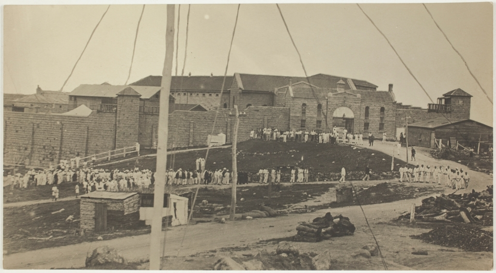 Trial Bay funeral 1916