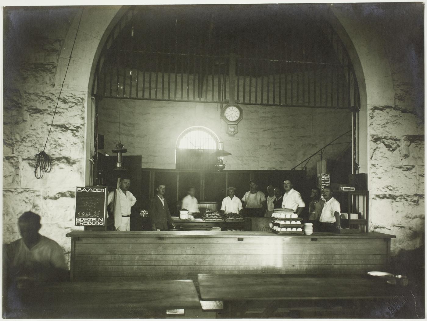 Enterprise Café Trial Bay WW1