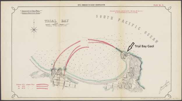 Trial Bay harbour project 1911