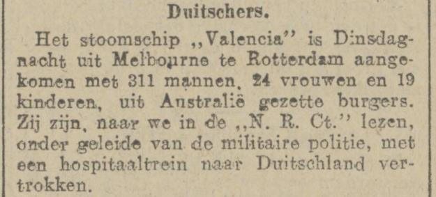 Valencia 1919