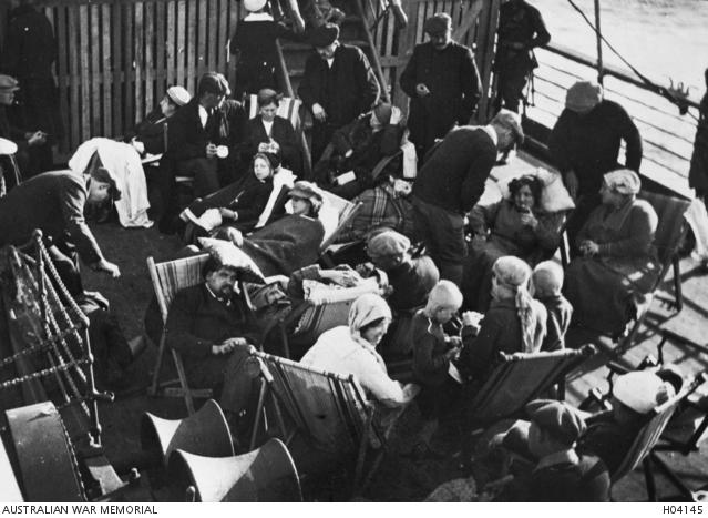 Kursk 1919, at sea