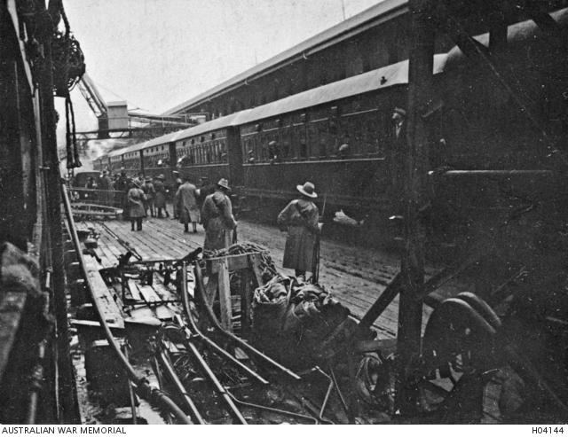 Darling Harbour, German deportees, 1919