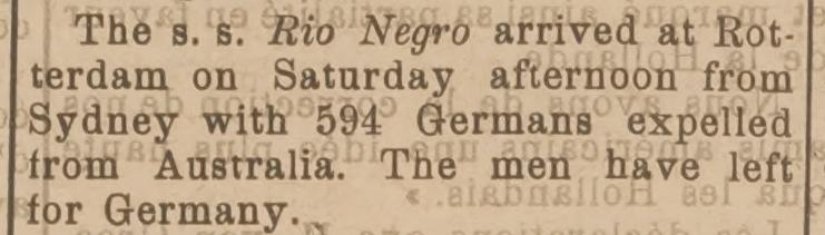 Rio Negro 1919