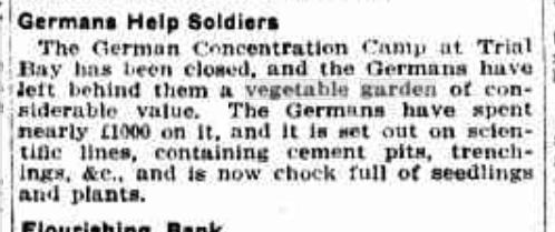 Germans help soldiers 1918