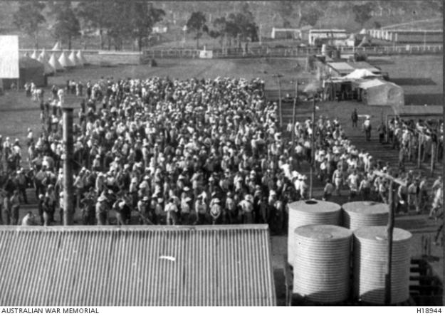 Liverpool camp 1917, WW1