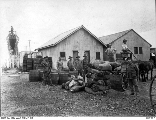 Liverpool camp WW1, kitchen buildings