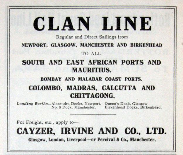 Clan Line 1917