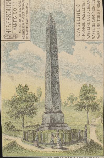 Werbemarke, Vaseline, um 1900